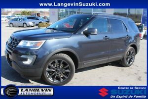 2017 Ford Explorer XLT/APPARENCE PKG/4WD/GPS/TOIT PANO