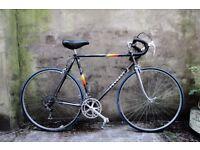PEUGEOT VANOISE, 22.5 inch, 57 cm, Brazed Butted Tubing (as 531), vintage racer racing road bike