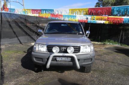 "2000 Toyota LandCruiser Wagon AUTOMATIC ""RWC SUPPLIED"" Morwell Latrobe Valley Preview"
