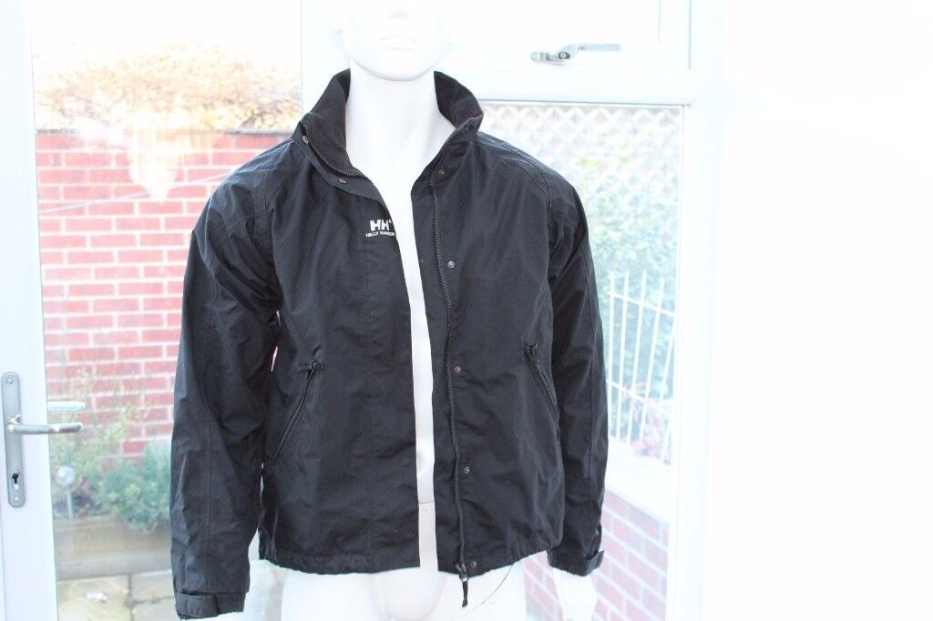 Helly Hansen Mens Jacket Coat Windproof Bomber Type