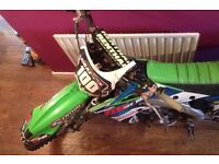 Kawasaki 2014 KX 250 EFI, brand new plastics set to go with the bike,£3100 ono