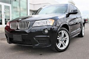 2013 BMW X3 XDRIVE35i+M PACK PERFORM.+NAV+CUIR+RARE+++