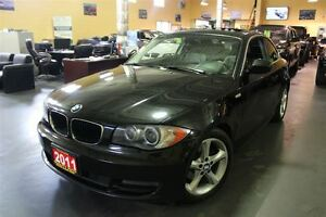 2011 BMW 1 Series 128i LEATHER SUNROOF 17ALLOYS