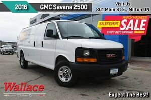 2016 GMC Savana 2500 CARGO/ POWER WINDOWS + LOCKS/AC