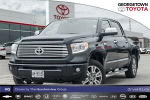 2017 Toyota Tundra Platinum with TRD exhaust, hard tonneau, chro