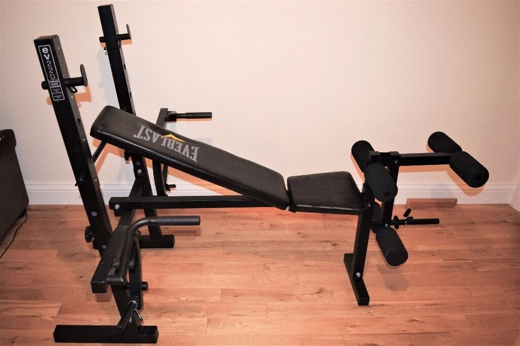 75 EVERLAST HEAVY DUTY EXERCISE BENCHGREAT CONDITIONRarely usedRRP120in Heathrow, LondonGumtree - Everlast EV220 Heavy Duty exercise bench for sale. Collection only. £75 RRP £120 Selling as rarely used, good condition! Weights not included, but cast iron weights are also available for purchase
