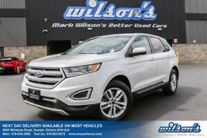 2016 Ford Edge SEL AWD! LEATHER! REAR CAMERA! REMOTE START! SYNC