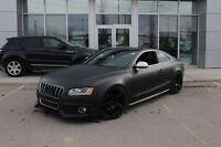 2009 Audi S5 MATTE BLACK! ADV1 WHEELS! NAV!