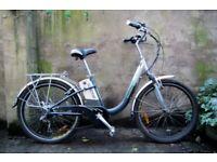 WINDSOR POWERCYCLE. 16 inch, 41 cm. Dutch style electric bike, 7 speed