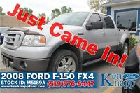 2008 Ford F-150 FX4 | 5.4L V8 | 4X4 | Leather/Moonroof