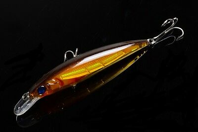 1pcs Minow Mepps Fishing tackle 11cm/13.5g peche Wobbler Lure Crank baits bass !
