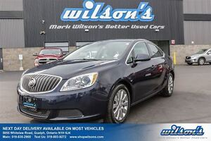 2016 Buick Verano CX POWER PACKAGE! ALLOYS! CLIMATE CONTROL! STE