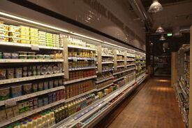 Sales Assistant for organic Supermarket Full-Time