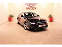 AUDI A4 2.0 TDI S LINE 4d 141 BHP + AIR CON + BLUETOOTH (black) 2009