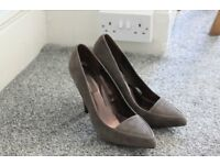 NEXT grey Heels size 5