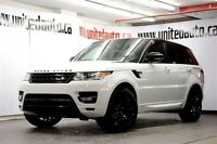 2015 Land Rover Range Rover Sport supercharged black package aut