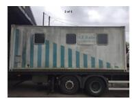 20ft shipping container. Mobile workshop / site office etc.