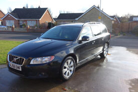 Volvo V70 D5 SE Lux 2008 (facelift) Immaculate condition leather interior, family car + extras