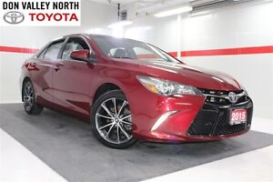 2015 Toyota Camry XSE Nav Btooth BU Camera Heated Seats Cruise