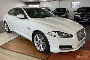 2012 Jaguar XF X250 MY13 Luxury White 8 Speed Sports Automatic Sedan