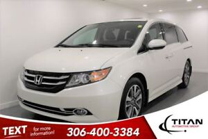 2015 Honda Odyssey Touring|Nav|DVD|8 Pass|Bluetooth| Leather