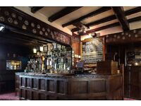 FULL TIME CHEF DE PARTIE REQUIRED FOR THE KINGS ARMS, HEATH, WAKEFIELD