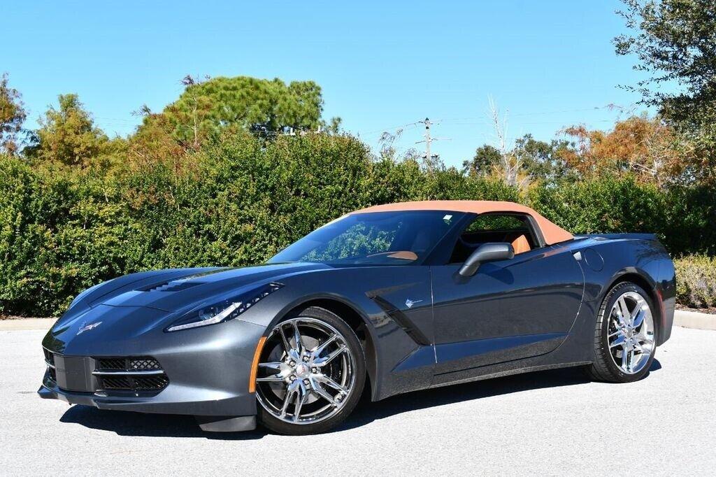 2014 Gray Chevrolet Corvette Convertible 3LT | C7 Corvette Photo 2