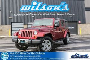 2012 Jeep WRANGLER UNLIMITED UNLIMITED SAHARA SUV 4X4! TOW PACKA