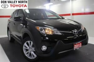 2013 Toyota RAV4 LIMITED AWD Sunroof Btooth BU Cam Heated Lther