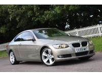 BMW 3 SERIES 2.0 320D SE HIGHLINE 2d AUTO 175 BHP RAC WARRANTY (bronze) 2009