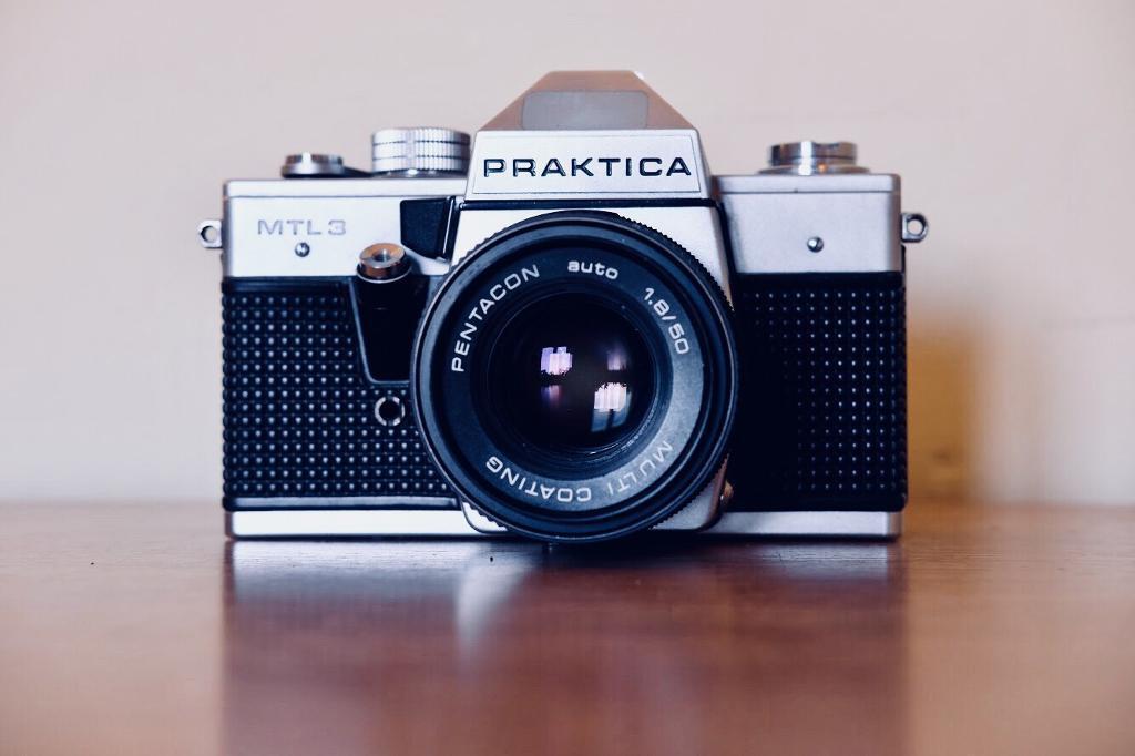Prakktica MTL3 35mm film camera + extras