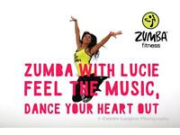 Zumba with Lucie!!