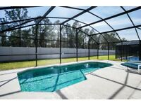 Villa Near Disney Florida, 4 bed 3 bath with pool, games room and wifi!
