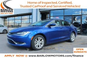 2015 Chrysler 200 Heated Seats | Bluetooth