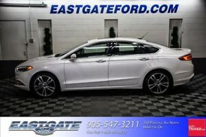 2017 Ford Fusion Titanium AWD Navigation 19 Wheels