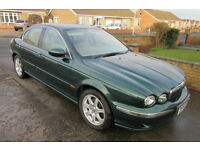 Jaguar X-Type 2.1 Ltr V6 (Petrol) Racing Green / Cream Leather(Good Condition for Age and Mileage)