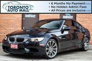 2012 BMW M3 6 SPEED+NAVIGATION+SUNROOF+HARMEN KARDON