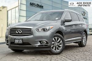 2015 Infiniti QX60 AWD! Rear Cam, Power Lift Gate, Moonroof!