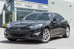 2016 Hyundai Genesis Coupe 3.8L-Premium Auto Leather Sunroof Nav