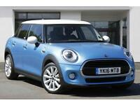 MINI HATCH COOPER D (electric blue) 2016