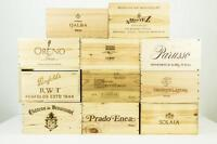 Wooden Wine Crates - Various Sizes, Vintages and Vineyards