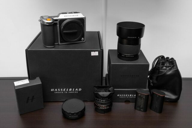 HASSELBLAD X1D-50C + XCD 45MM + XPAN Lens  Medium Format Camera BOXED +  extras   in Metheringham, Lincolnshire   Gumtree