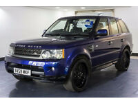 2009 59 LAND ROVER RANGE ROVER SPORT 3.0 TDV6 SE AUTO DIESEL FSH*2 YEARS WARRANTY*FINANCE