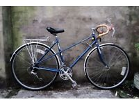 DAWES GALAXY, 19.5 inch, 50 cm, Reynolds 531, vintage ladies womens racer racing road bike, 10 speed