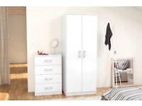 New & Flatpacked Reflect two door wardrobe