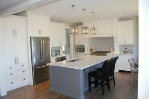 Custom Kitchen Cabinets for the right price.  We make them to fit your space. 100% custom.  We install too!