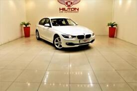 BMW 3 SERIES 2.0 318D SE 4d AUTO 141 BHP NO DEPOSIT NEED - DRIVE AWAY TODAY (white) 2013
