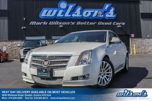 2014 Cadillac CTS RWD LEATHER! NAVIGATION! HEATED+COOLED SEATS!