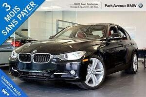 2014 BMW 328I xDrive Sport Line + Cuir rouge
