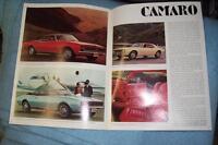1968 69 GM Dealer Brochures, Corvette Rally wheels 15x7 Rims